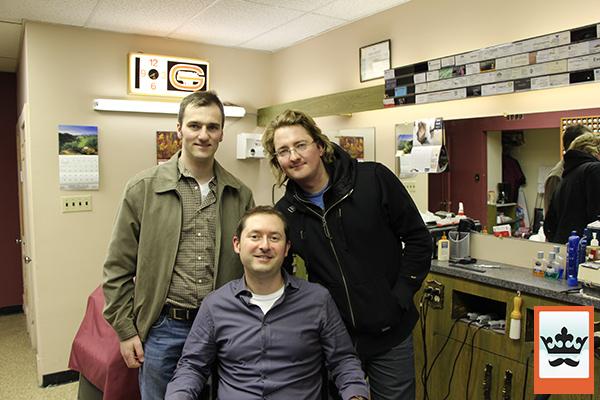 Tom, Kevin, James