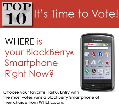 Vote for Your Favorite BlackBerry Haikus!