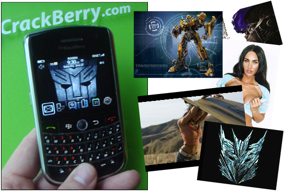 Transformers Wallpapers and Ringtones for your BlackBerry