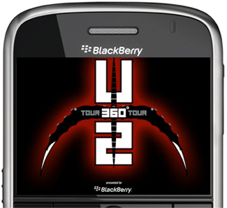 BlackBerry Sponsor U2's 360 Tour