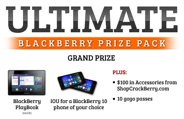 Ultimate BlackBerry Prize Pack!