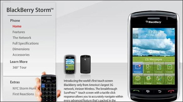 Verizon Storm Site Updated!