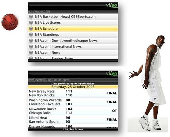 Viigo Goes NBA!