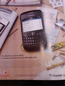Vodafone BlackBerry Curve 8520