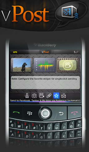vPost for BlackBerry