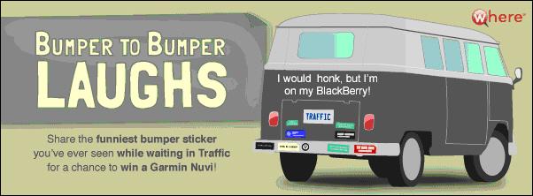 Bumper to Bumper Laughs Winner!