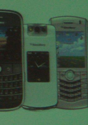 BlackBerry Pearl Flip in White
