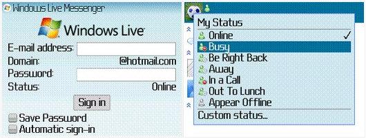 Windows Live for BlackBerry
