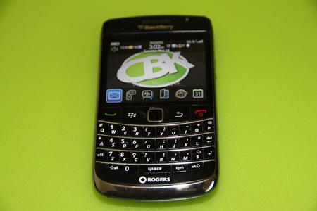 CBK's BlackBerry Bold 9700
