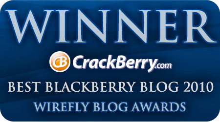Best BlackBerry Blog 2010