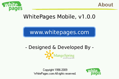 WhitePages Mobile