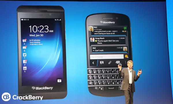 BlackBerry Z10 / BlackBerry Q10