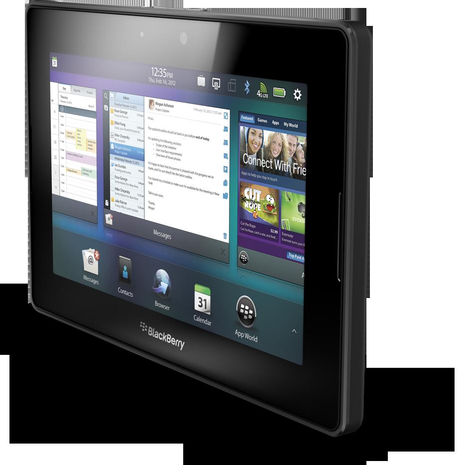 4G LTE BlackBerry PlayBook
