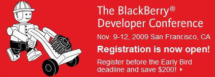 BlackBerry Developer Conference 2009