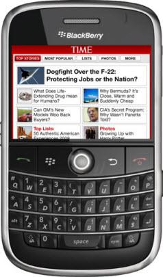 TIME Magazine for BlackBerry