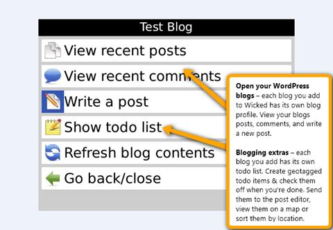 Wicked Wordpress for BlackBerry