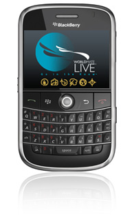WorldMate Live for BlackBerry