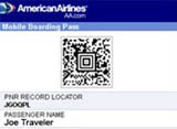 American Airlines Introduces Mobile Boarding Passes