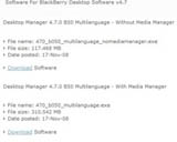 BlackBerry Desktop Manager 4.7