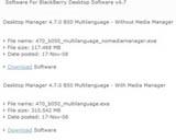 BlackBerry Desktop Manager 4.7