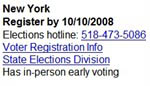 Mobile Election Info from Google