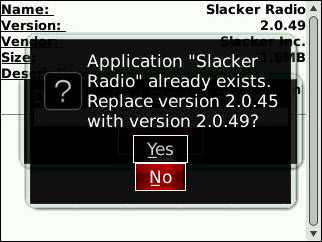 Slacker Radio Updated
