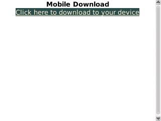 Download to Device