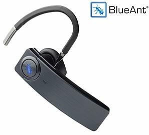review blueant q1 voice controlled bluetooth headset. Black Bedroom Furniture Sets. Home Design Ideas