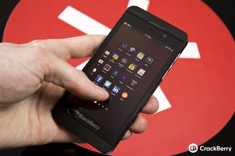 The BlackBerry Z10