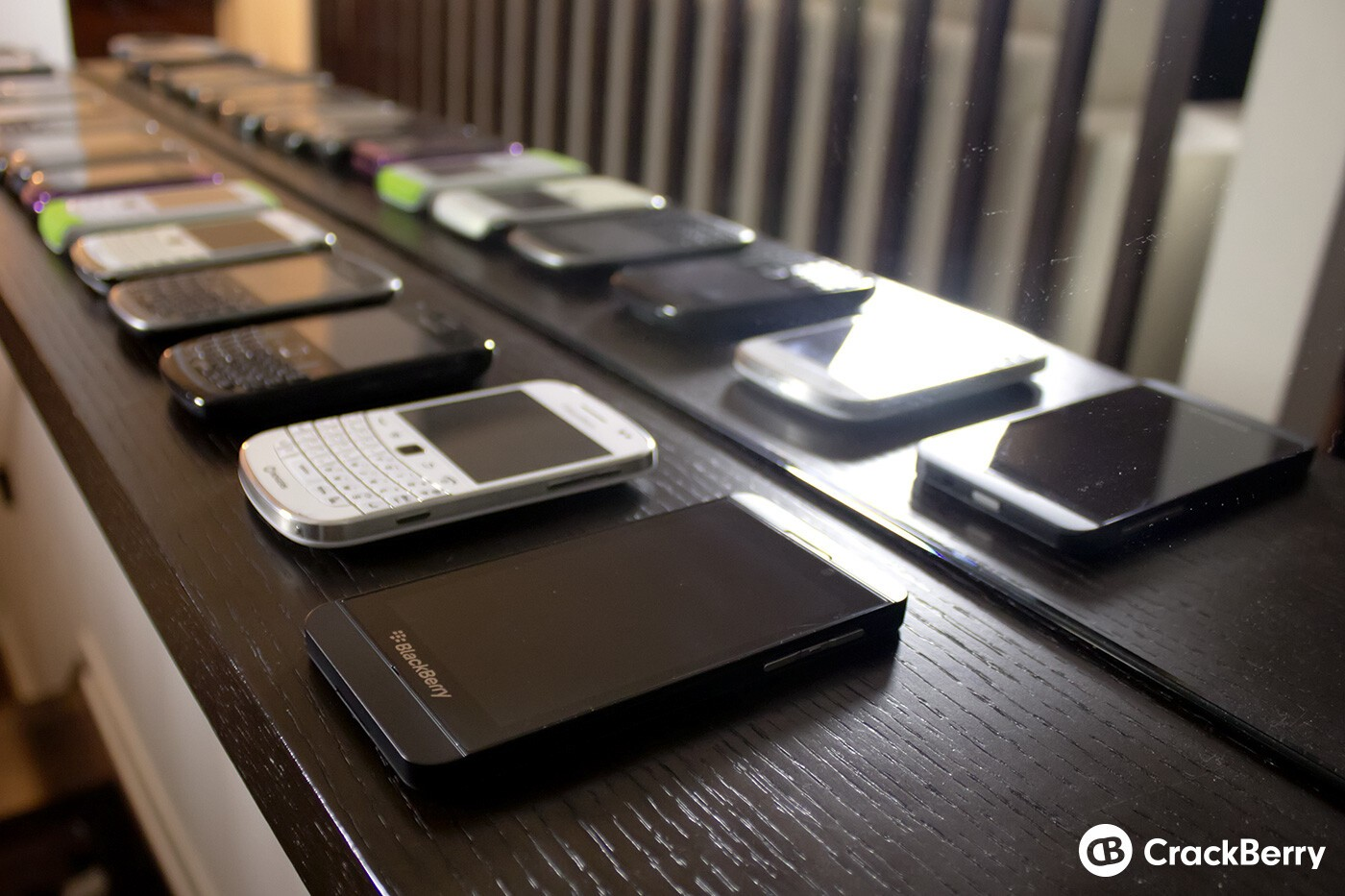 The BlackBerry Z10 follows a long line of previous BlackBerry devices