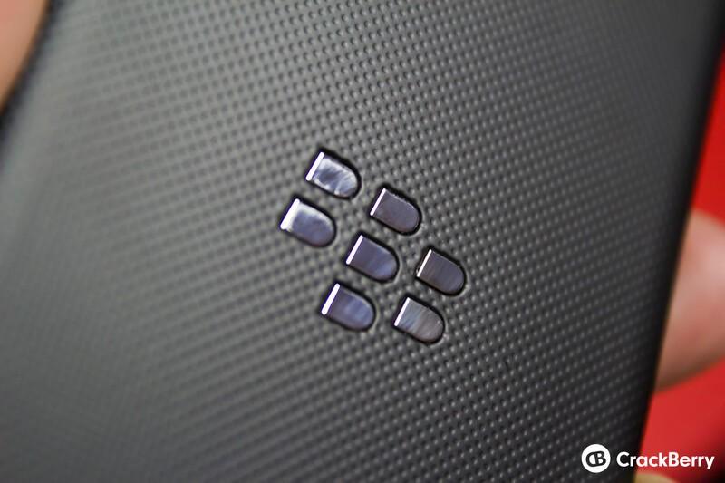 BlackBerry Z10 rear