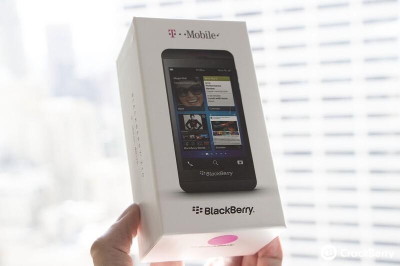 T-Mobile BlackBerry Z10