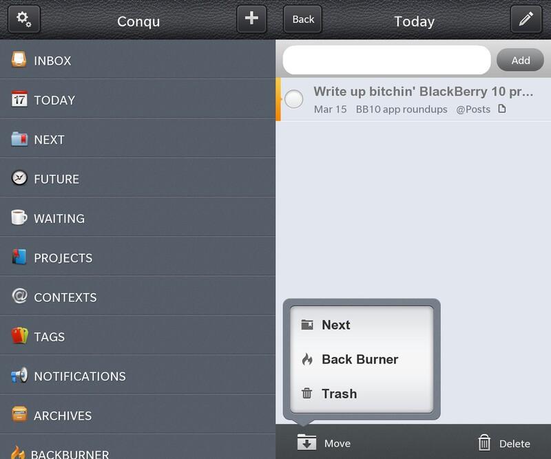 Conqu for BlackBerry 10