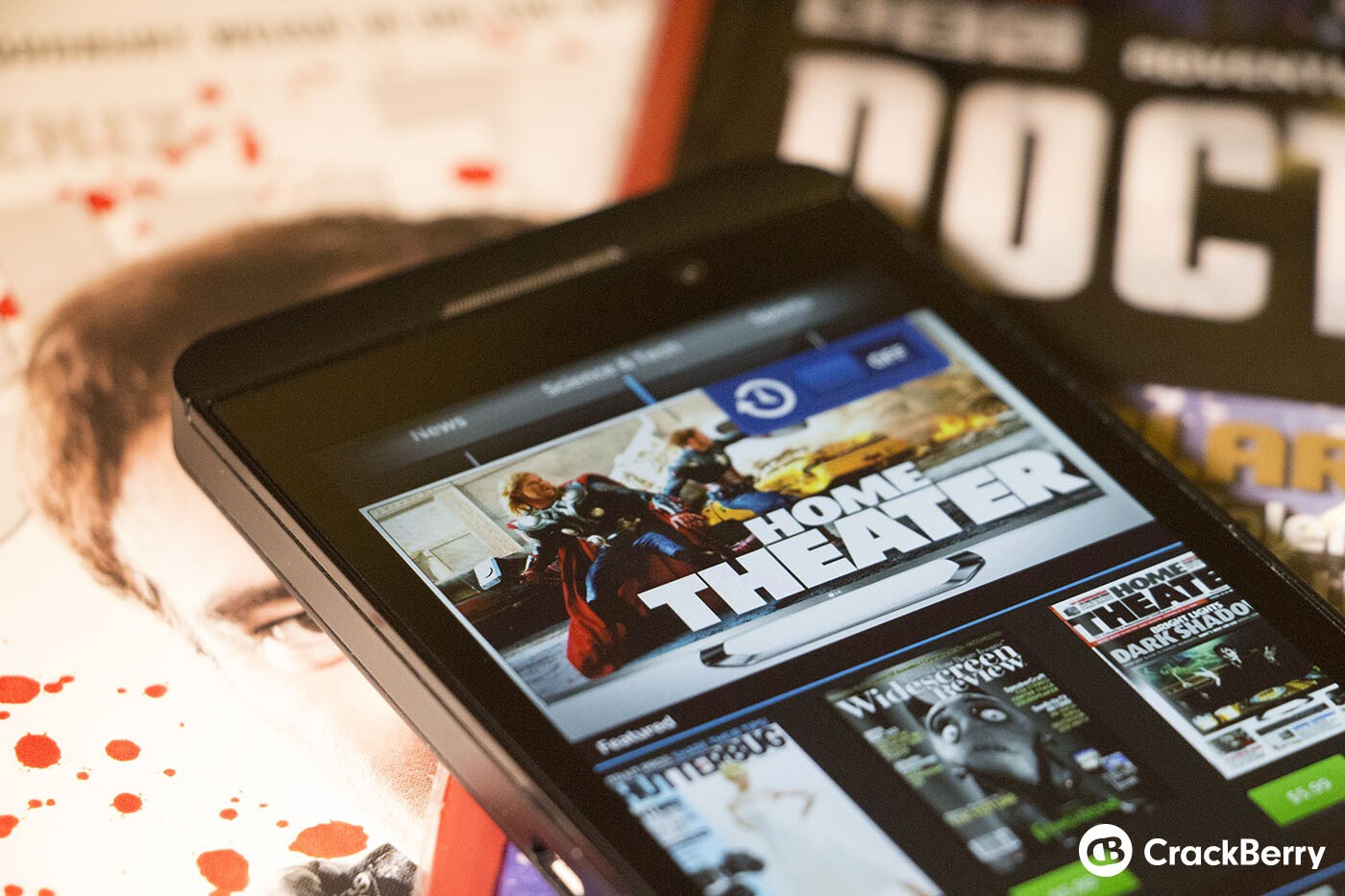 BlackBerry Newsstand gets bumped into v10.0.10.10