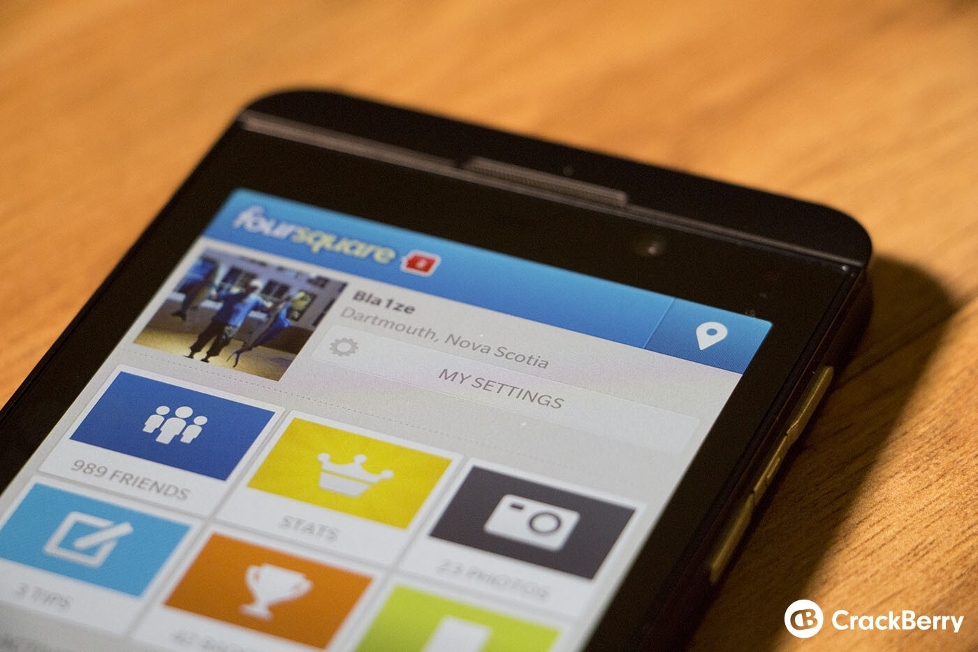 Foursquare for BlackBerry 10 updated to v10.0.0.2877