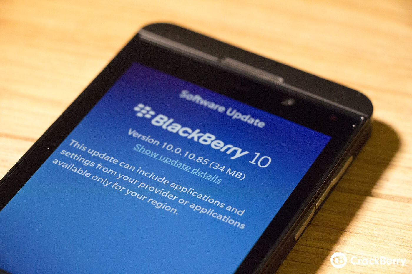 Rogers, Fido and TELUS now rolling out OS 10.0.10.672 for the BlackBerry Z10