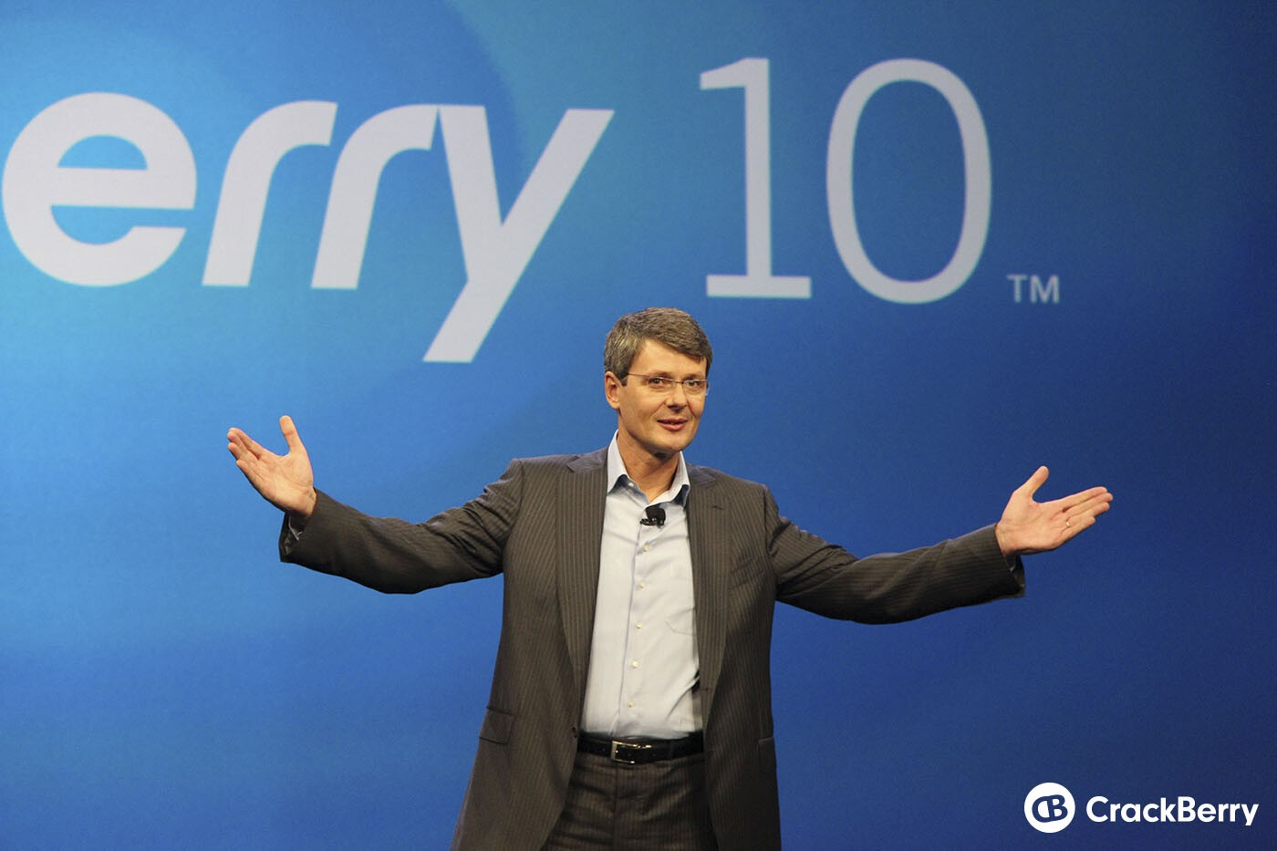 'We have now increased our production capacity.' - BlackBerry CEO, Thorsten Heins
