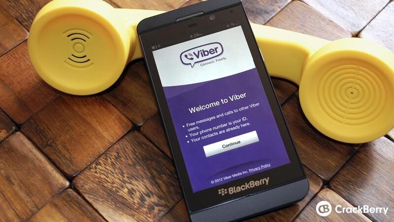 Viber for BlackBerry 10