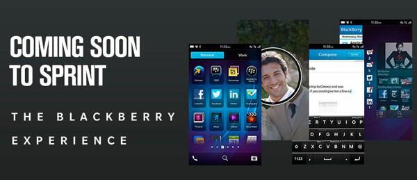 BlackBerry 10 on Sprint