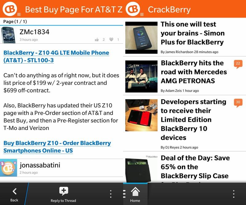CB10 for BlackBerry 10