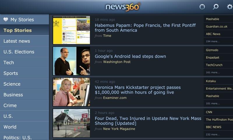 News360 for BlackBerry 10