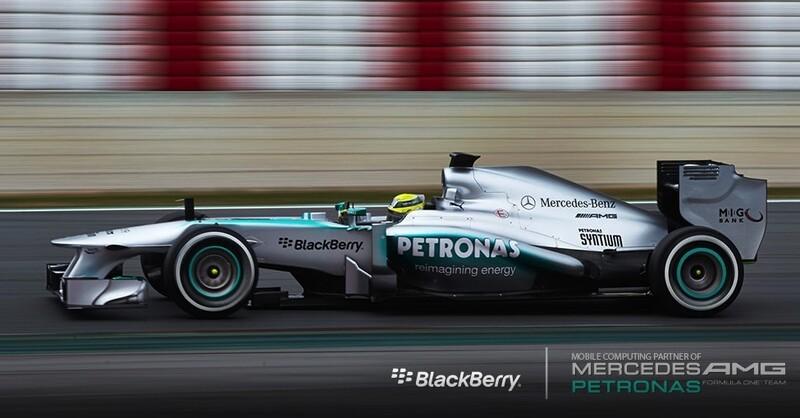 BlackBerry Mercedes AMG Petronas