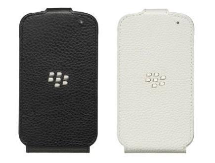 BlackBerry Leather Flip Shell