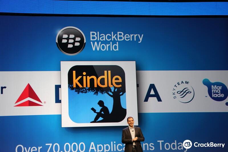 Kindle App BlackBerry 10