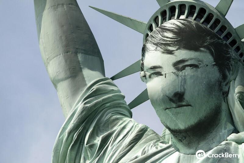 Statue of CrackBerry!