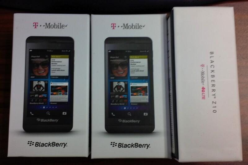 The T-Mobile BlackBerry Z10