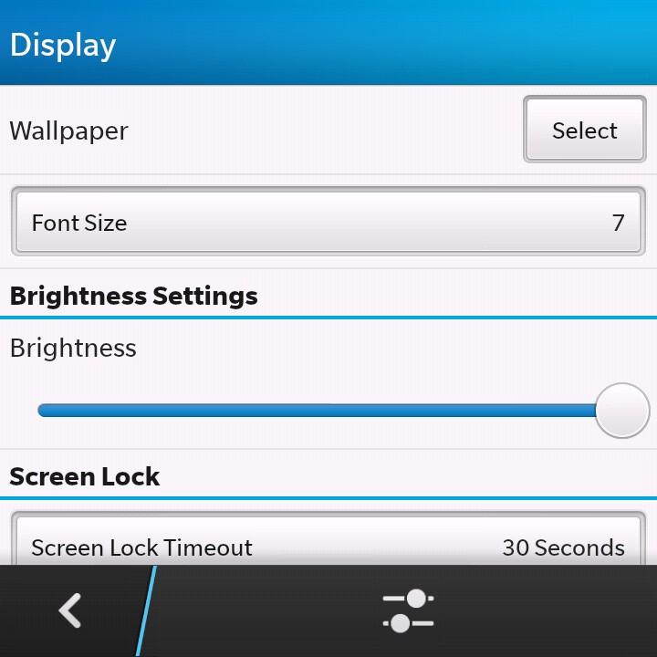 BlackBerry Q10 setup