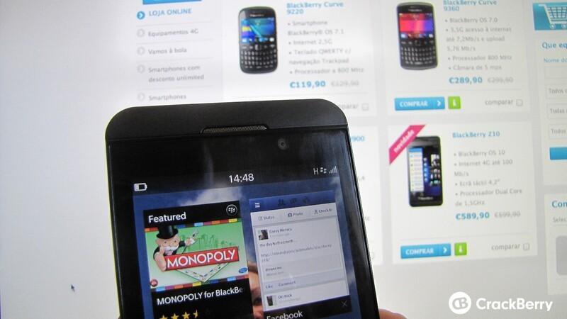 BlackBerry Z10 Portugal
