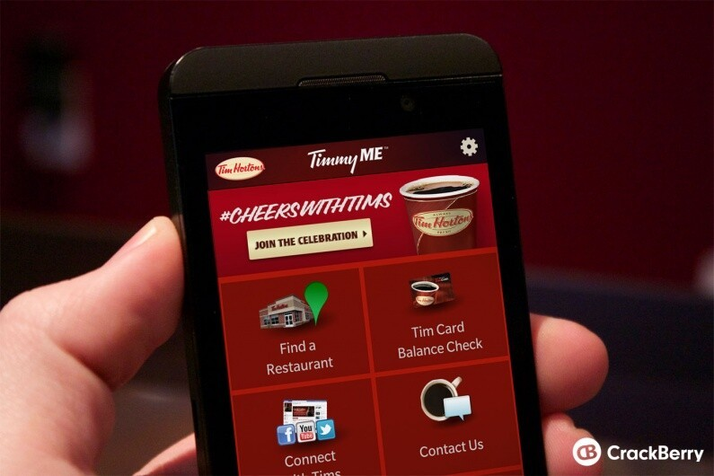 Tim Hortons TimmyMe app being discontinued on May 31, 2018