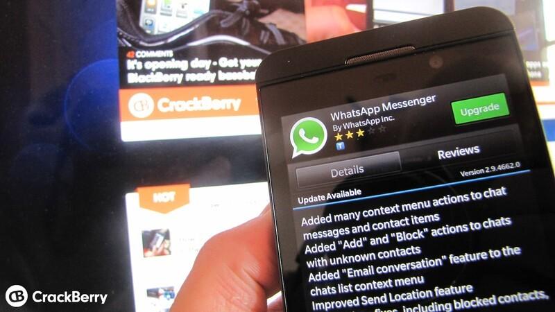 Download whatsapp versi blackberry q10